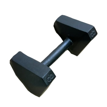 HS Fitness Triangle Hex 8kg Dumbbell