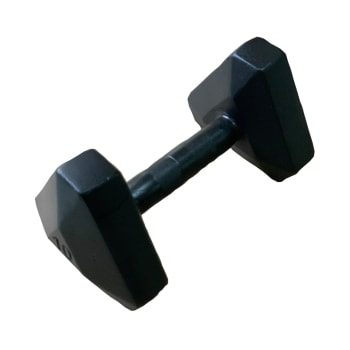 HS Fitness Triangle Hex 10kg Dumbbell