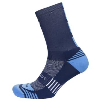 Versus Blue RUN Mid Running Socks 8-12