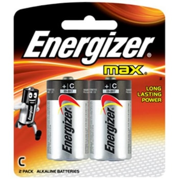 Energizer C 2 Pack Batteries