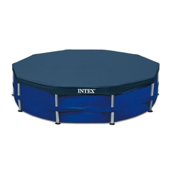 Intex Pool 12FT Metal Frame Pool Cover - Out of Stock - Notify Me