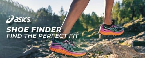 Your ASICS Shoe finder