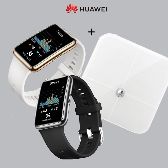 Huawei Watch Fit & Scale