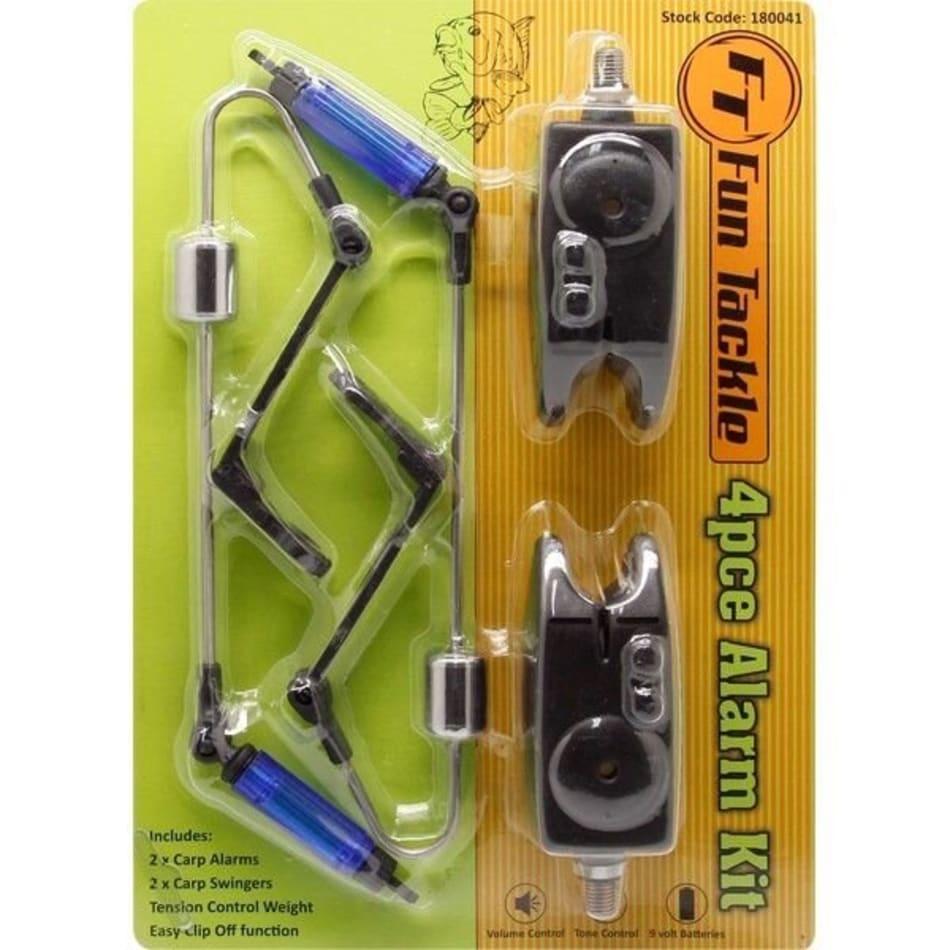 Carp Alarm Kit 2 Alarms + 2 Swingers, product, variation 1