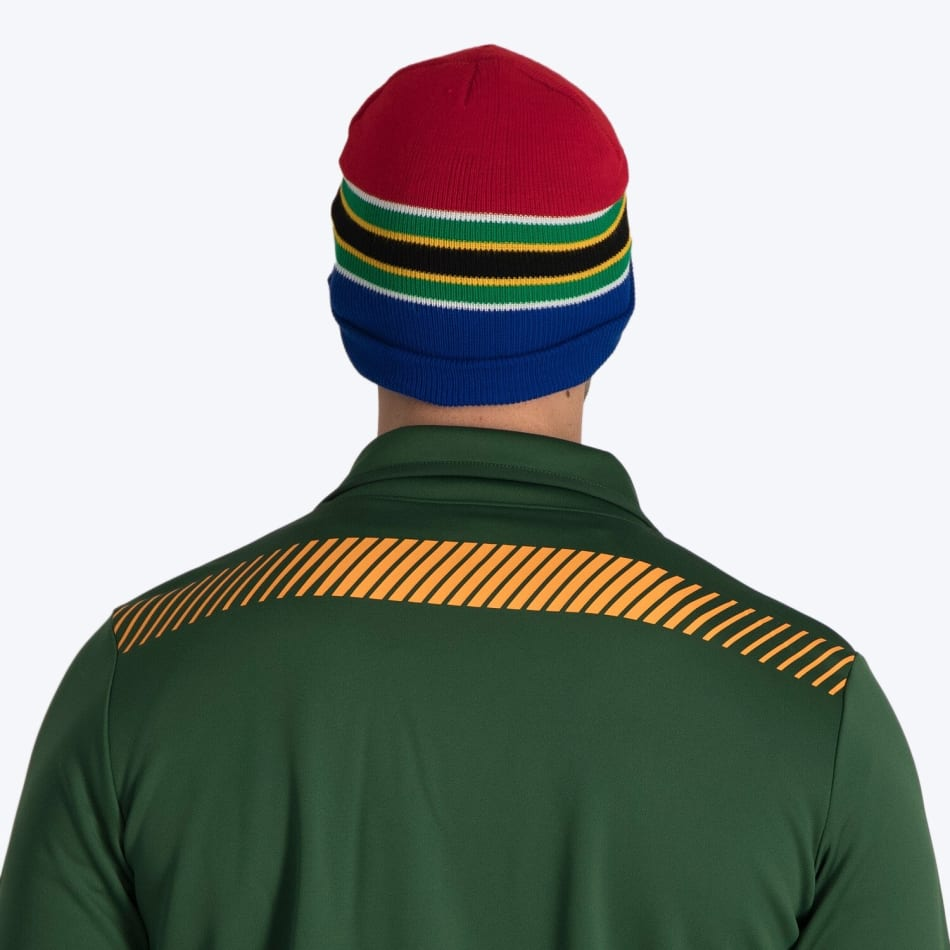 South Africa Flag Strip Beanie, product, variation 2