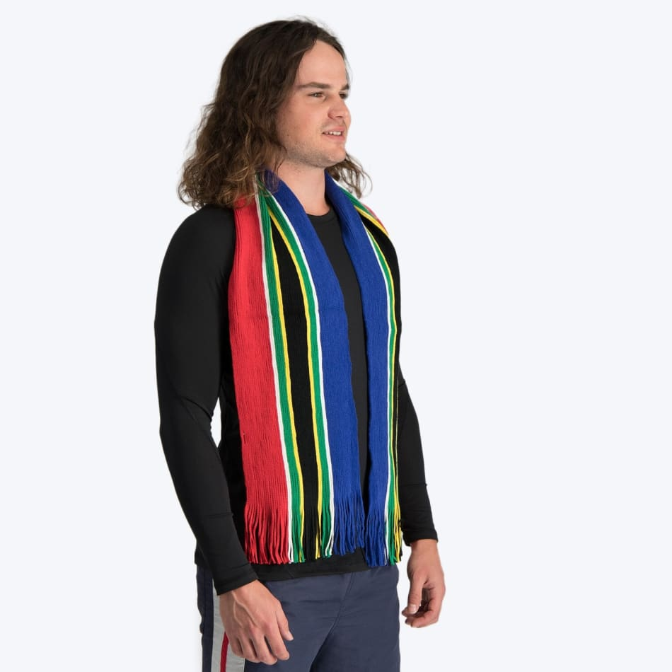 South African Flag Stripe Scarf, product, variation 3