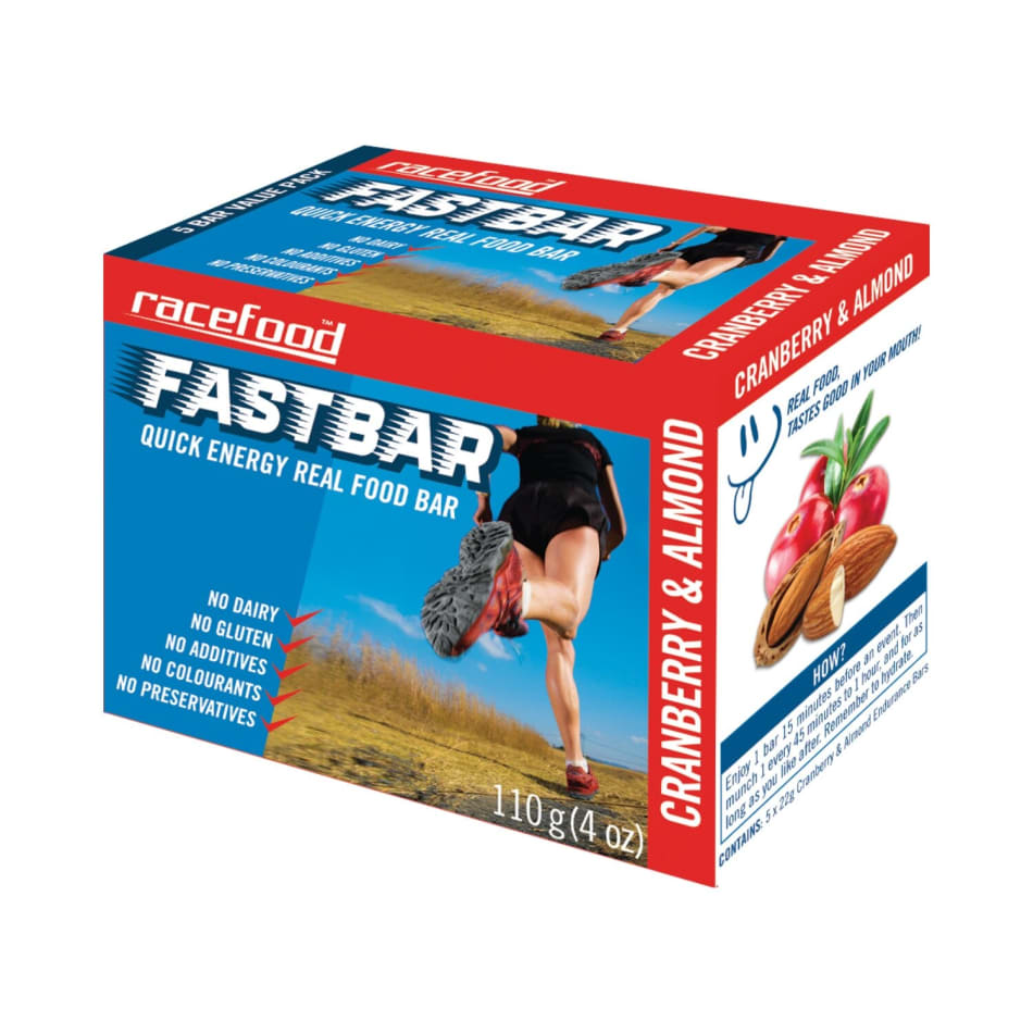 Racefood Fastbar Energy Bar, product, variation 1