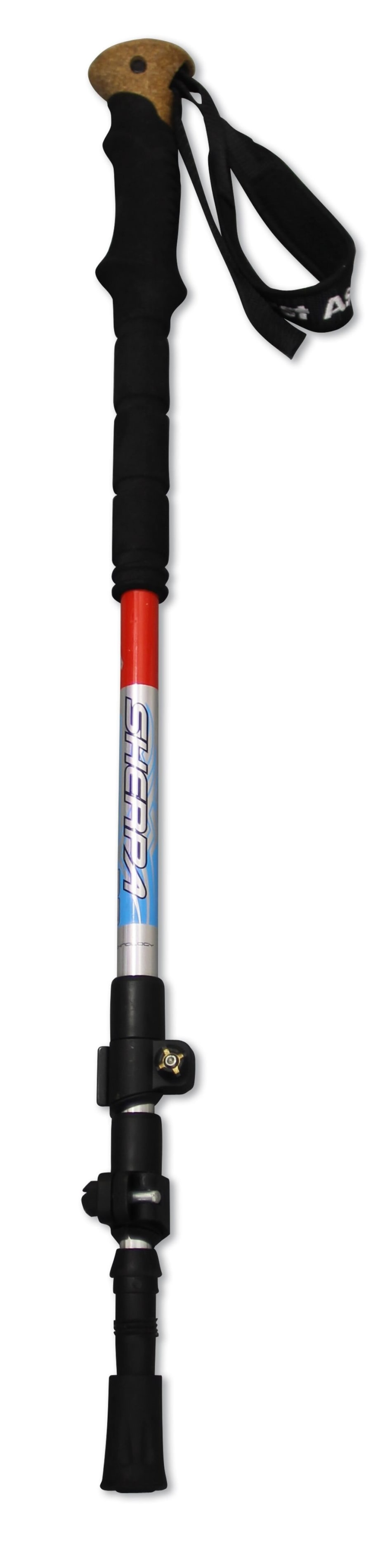 First Ascent Sherpa 3 section Trekking Pole, product, variation 1