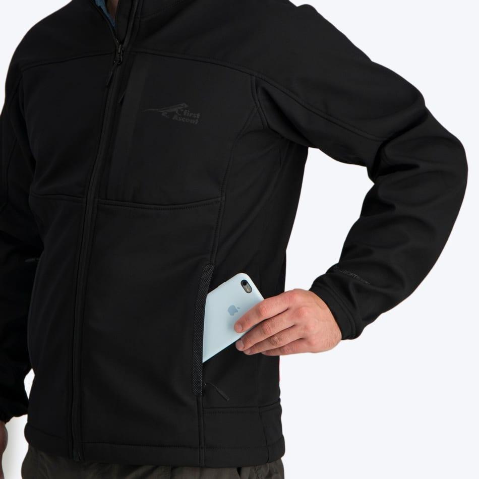 First Ascent Men's Fairfax XT-2 Softshell Jacket, product, variation 5