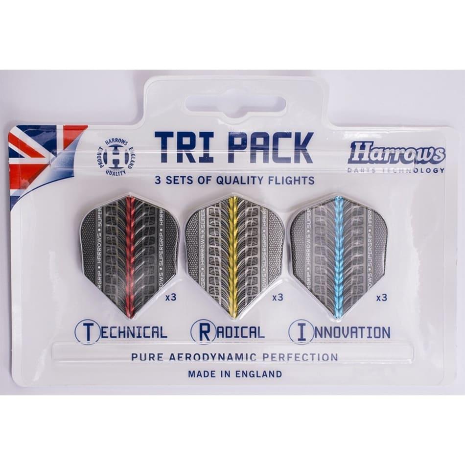 Harrows Tri-pack Supergrip Flights, product, variation 1