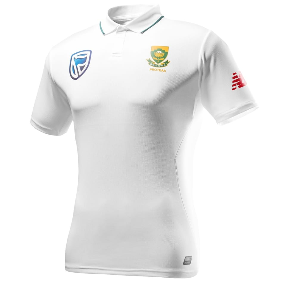 New Balance Proteas Mens Test Jersey 2018/2019, product, variation 1