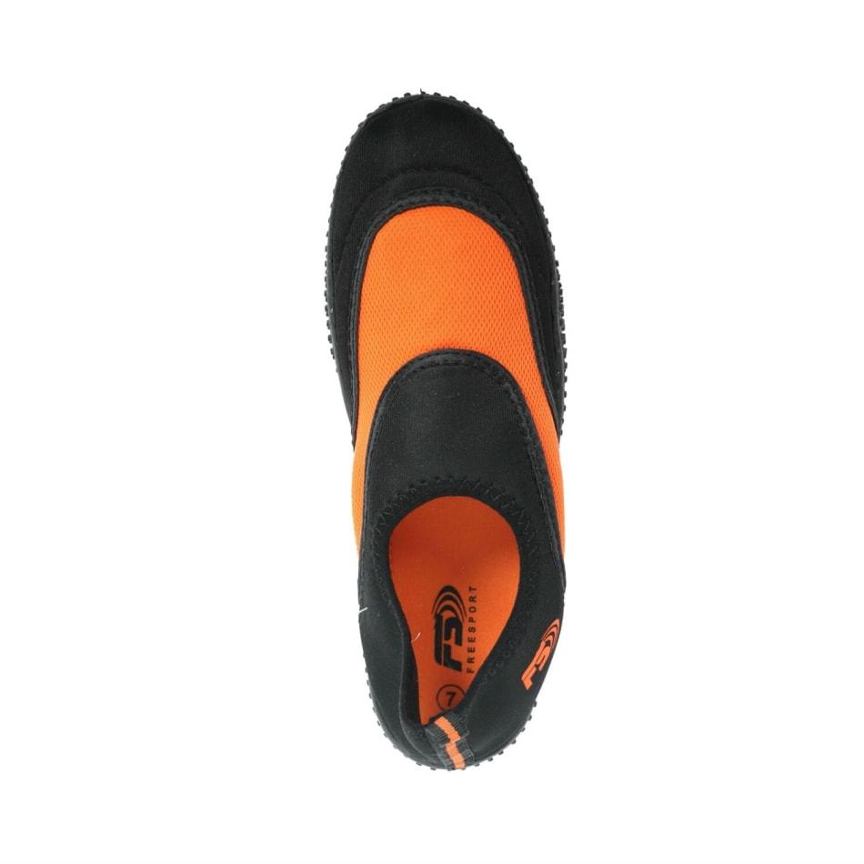 Aqua Men's Slip On Black/Orange Aqua Shoe, product, variation 2