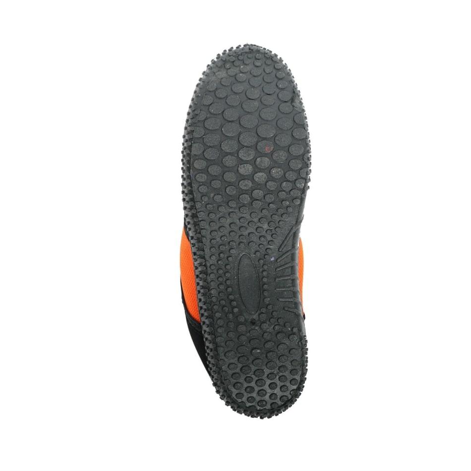Aqua Men's Slip On Black/Orange Aqua Shoe, product, variation 3