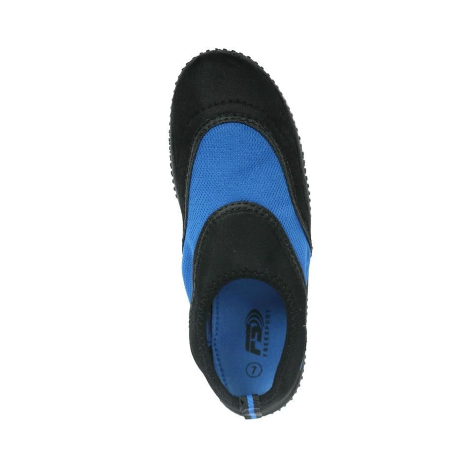 Aqua Men's Slip On Black/Royal Blue Aqua Shoe, product, variation 2