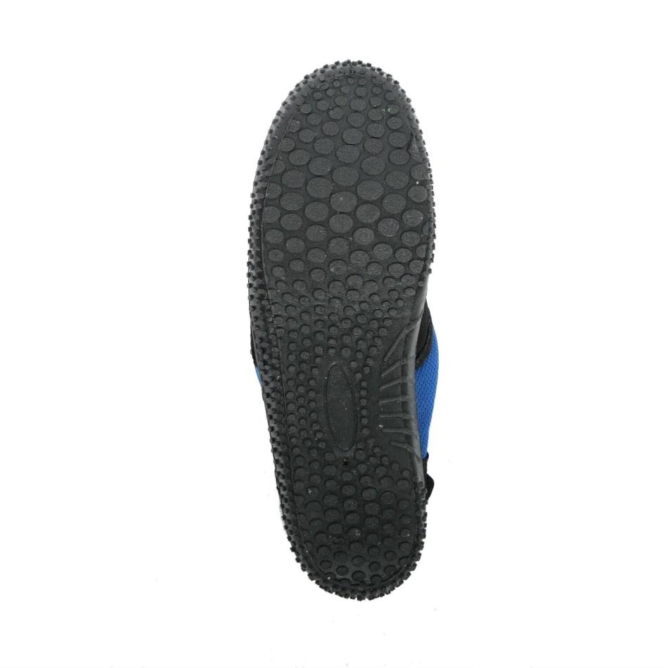 Aqua Men's Slip On Black/Royal Blue Aqua Shoe, product, variation 3