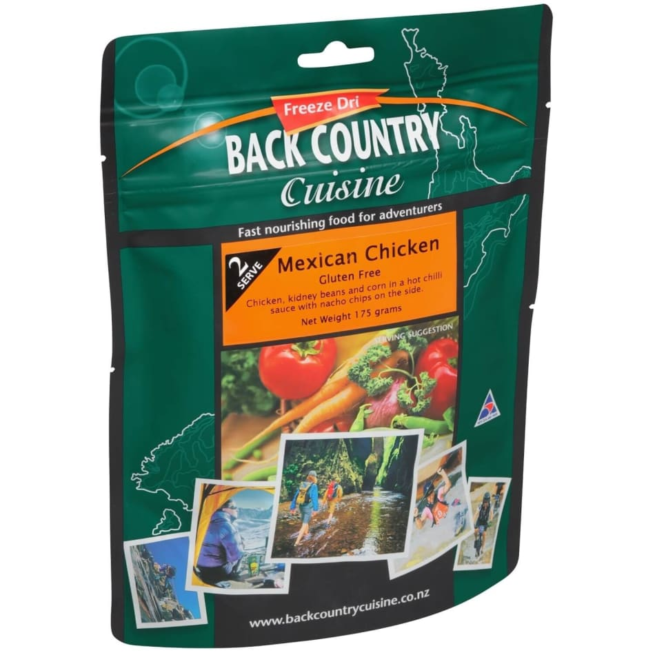 Back Country Cuisine Mexican Chicken 2 Serve meal, product, variation 1