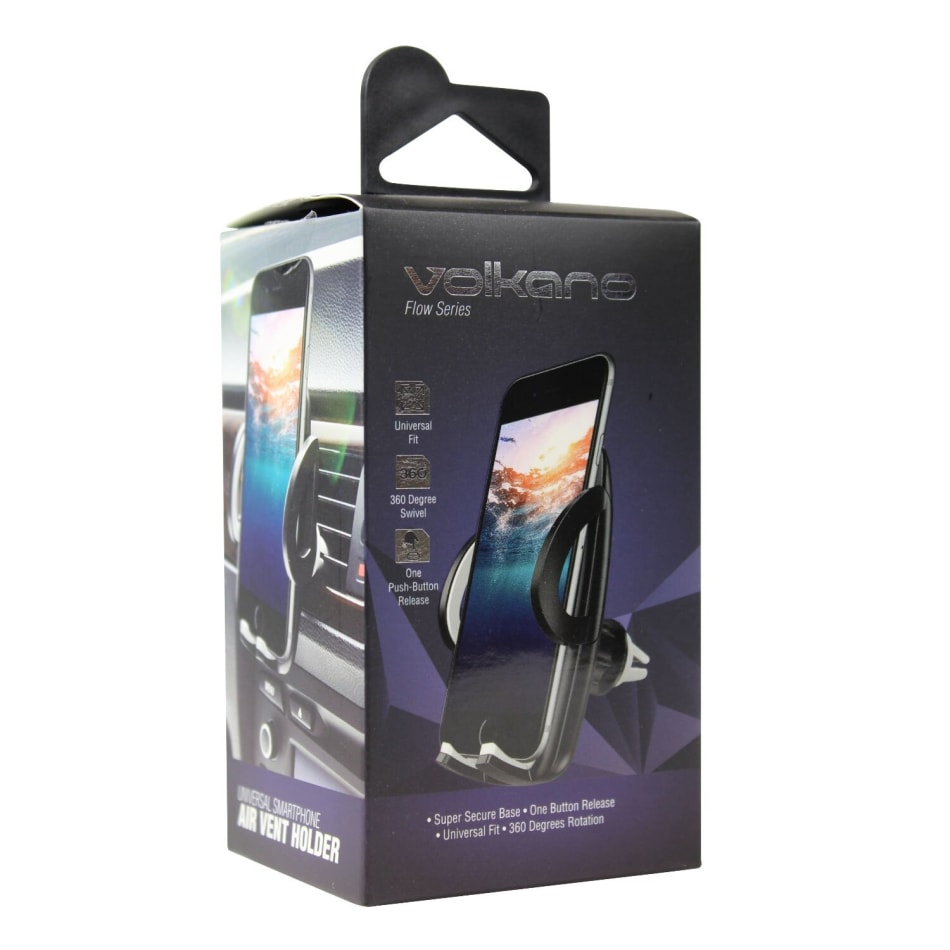 Volkano Flow Car Air Vent Cell Phone Holder, product, variation 1