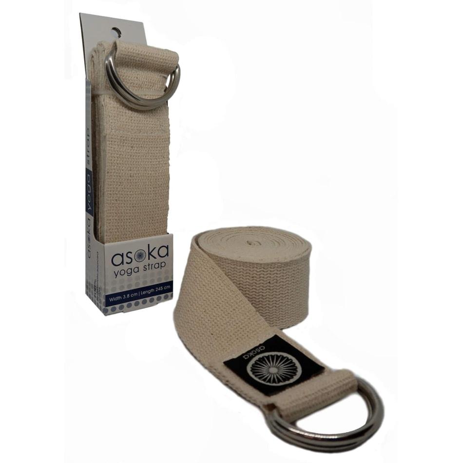 Asoka 100% Cotton Yoga Strap, product, variation 2