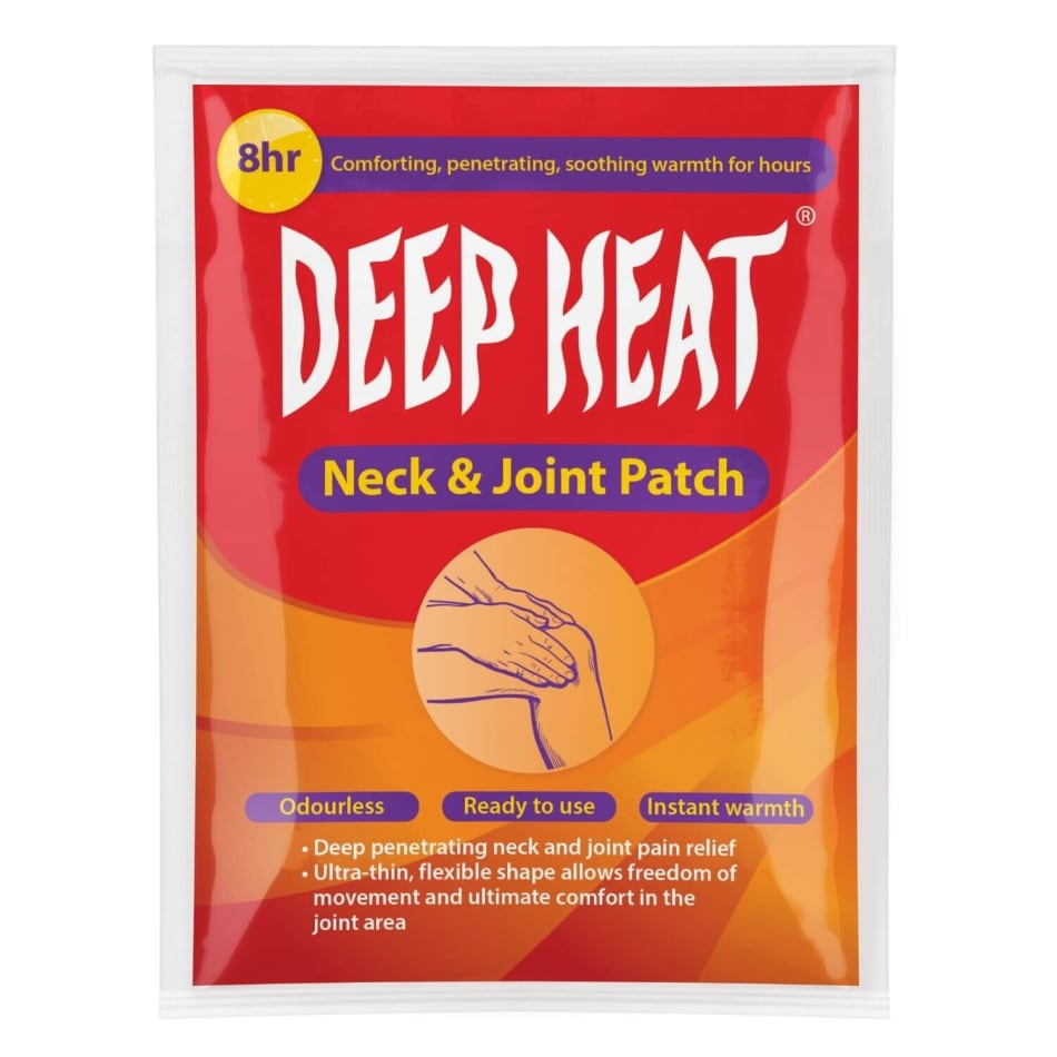 Deep Heat Neck & Joint 1PC Sport Patch, product, variation 1