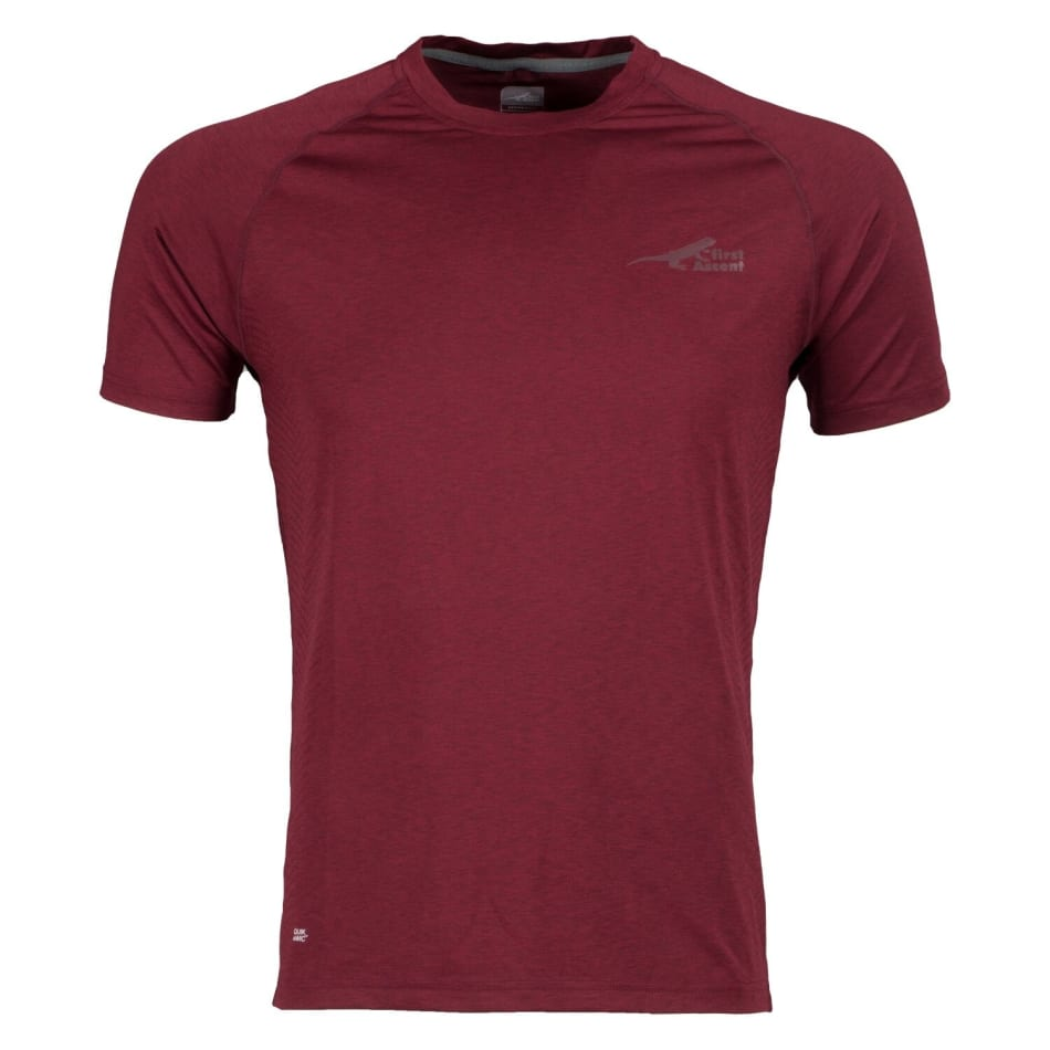 First Ascent Men's Fusion Run Tee, product, variation 1
