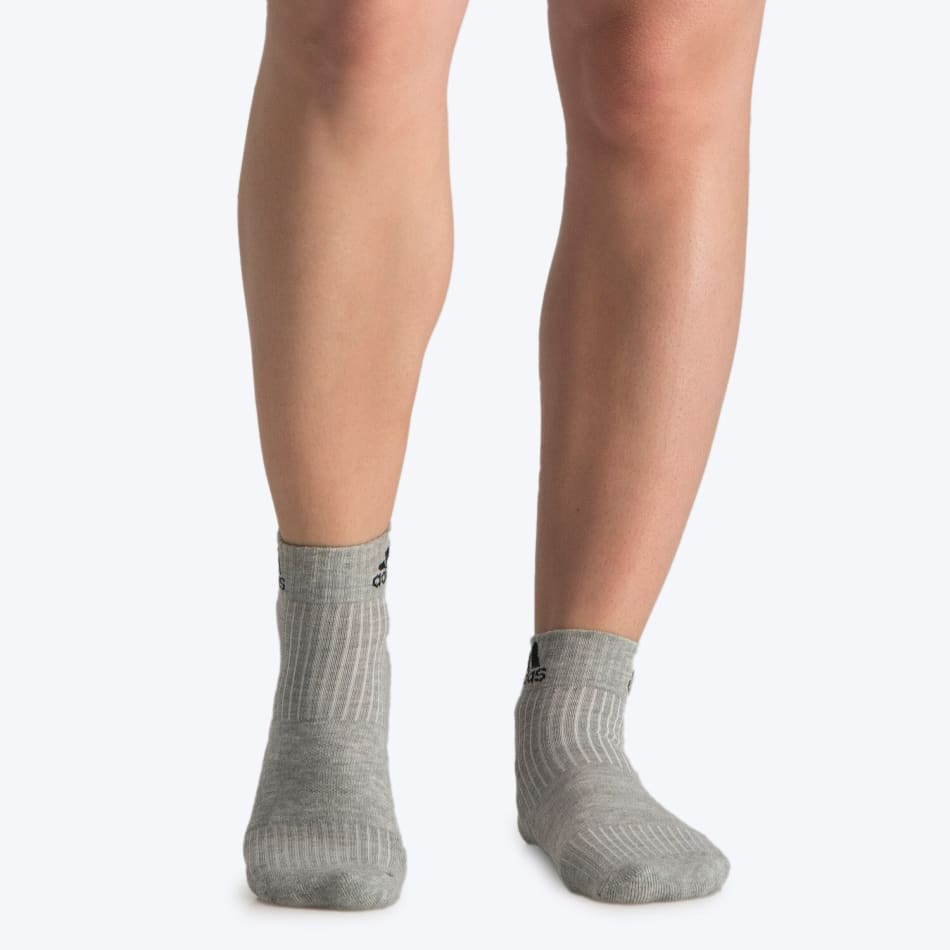 Adidas Junior No Show Cushion Crop 3Pack Sock, product, variation 2