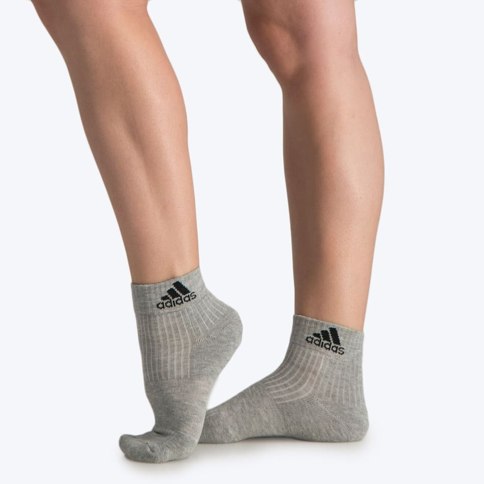 Adidas Junior No Show Cushion Crop 3Pack Sock, product, variation 3