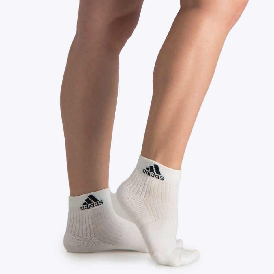 Adidas Junior No Show Cushion Crop 3Pack Sock, product, variation 5