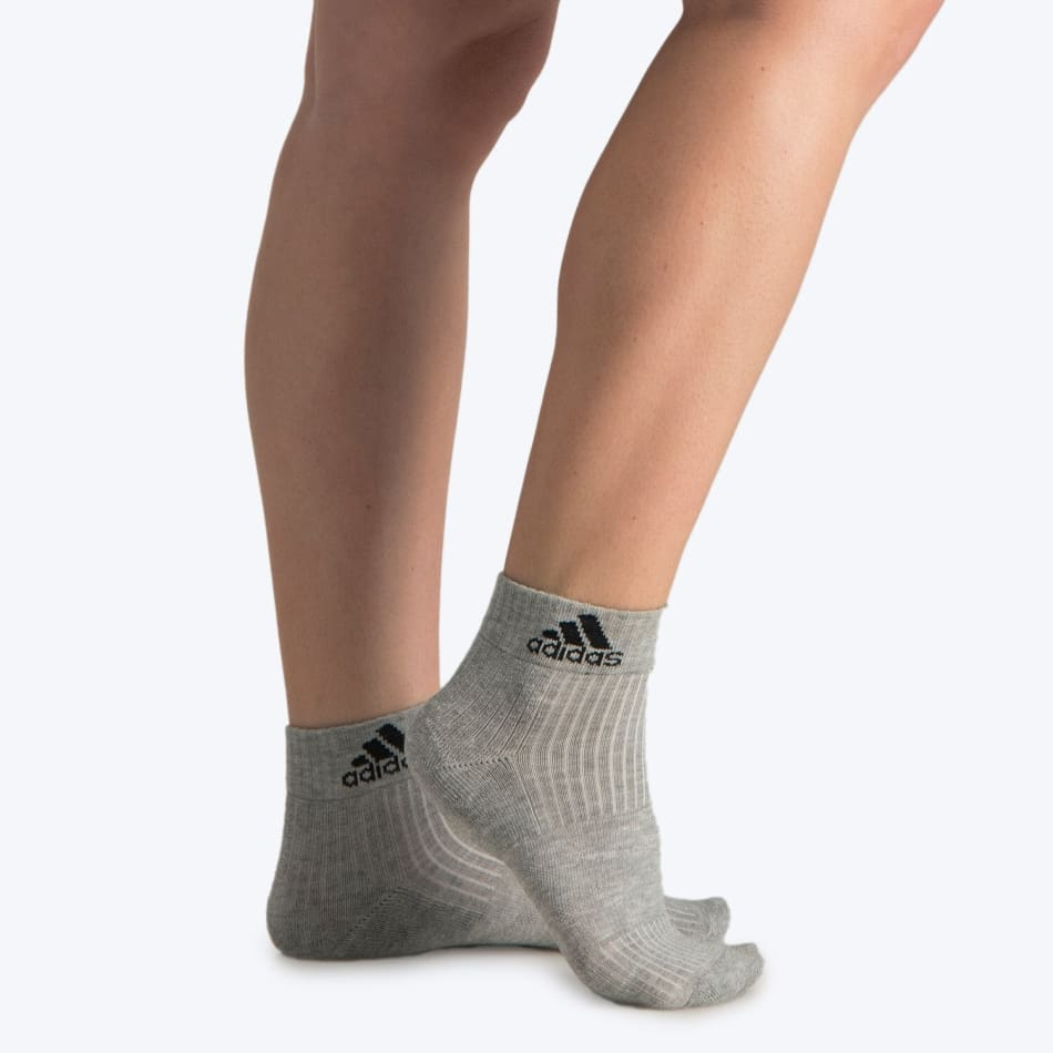 Adidas Junior No Show Cushion Crop 3Pack Sock, product, variation 1
