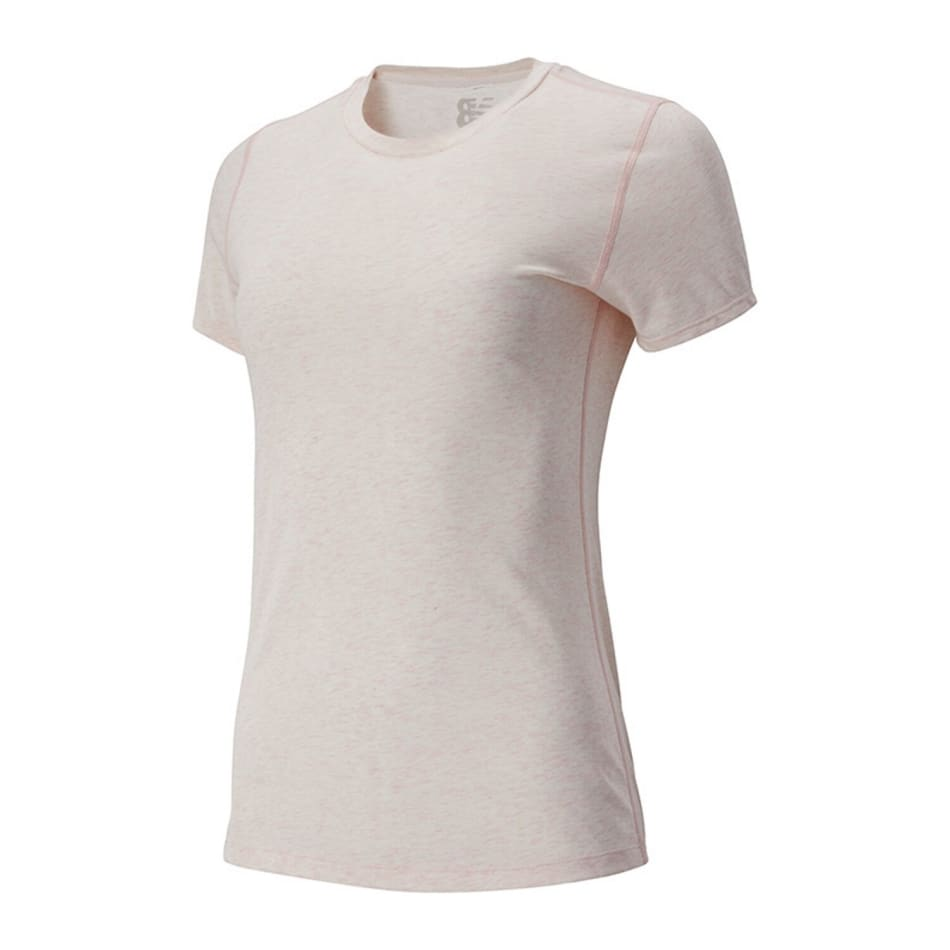 New Balance Women's Relentless Heather SS Top, product, variation 1