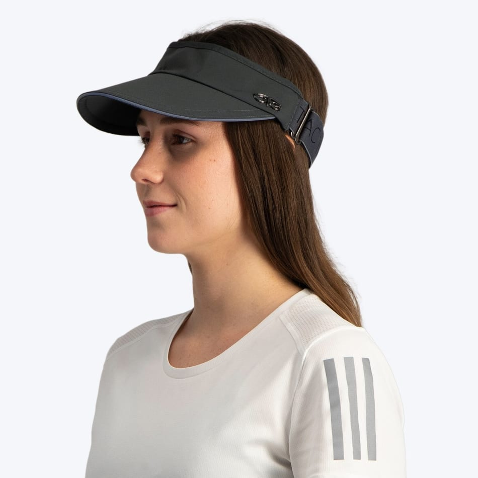 OTG Women's Grey Flair Visor, product, variation 2
