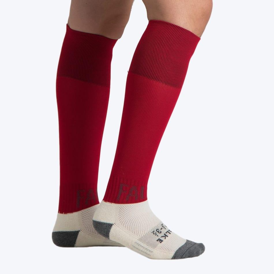 Falke Red Practice Solid Sock Size 12.5-3.5, product, variation 1