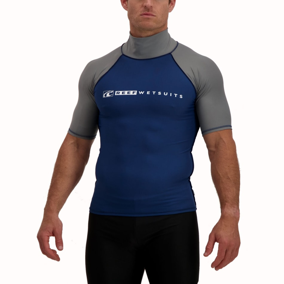 Reef Men's Short Sleeve Rash Vest, product, variation 1