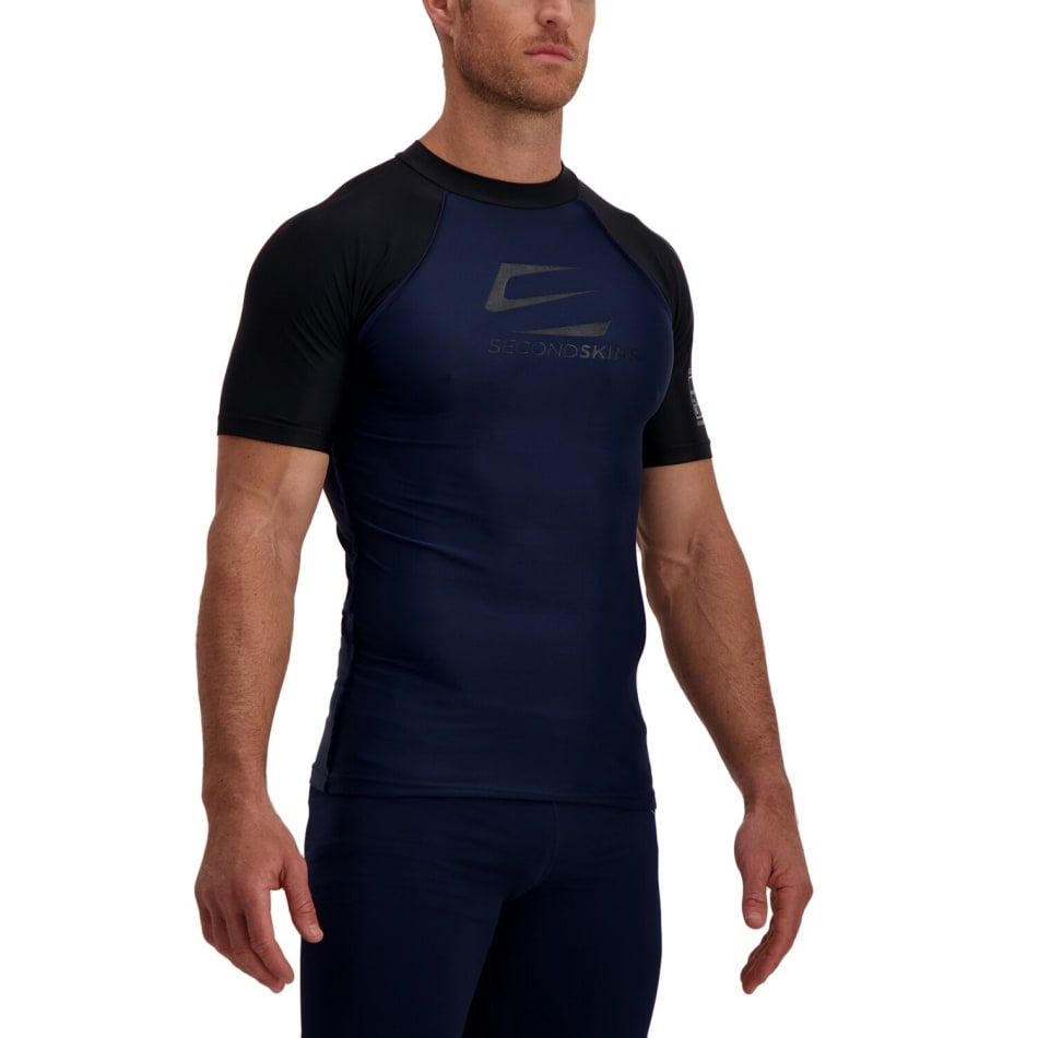 Second Skins Men's Iconic Short Sleeve Rashvest, product, variation 3