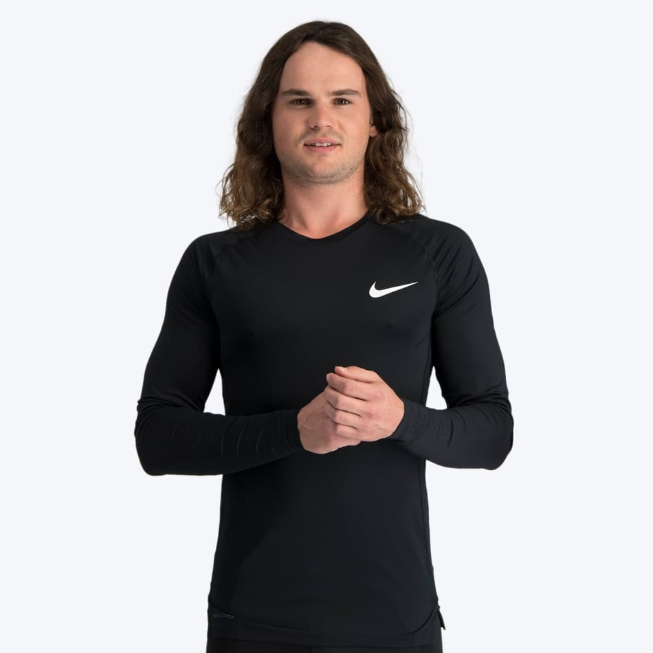 Nike Men's Comp Long Sleeve Run Top, product, variation 1