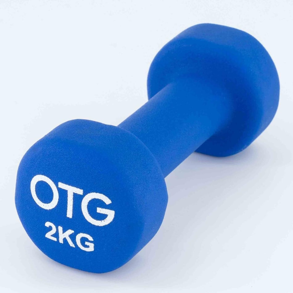 OTG 2.0kg Neoprene Dumbbell, product, variation 1