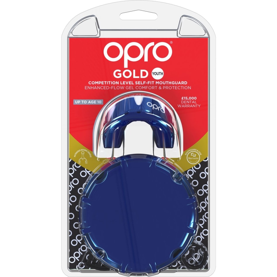 OPRO Gold Junior Mouthguard, product, variation 3