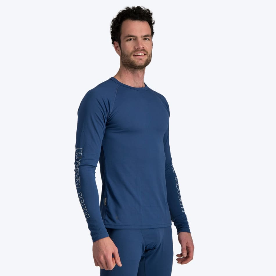 First Ascent Men's Quick Wic Bamboo Long Sleeve Top, product, variation 4