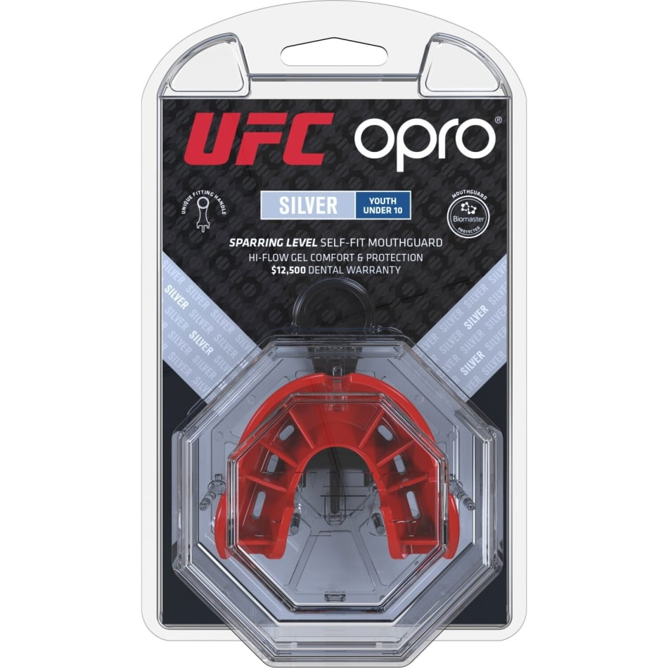 OPRO UFC Silver Junior Mouthguard, product, variation 2
