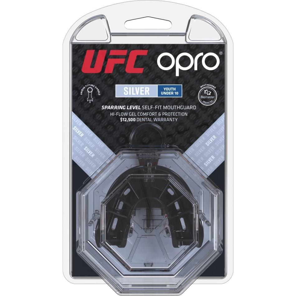 OPRO UFC Silver Junior Mouthguard - default
