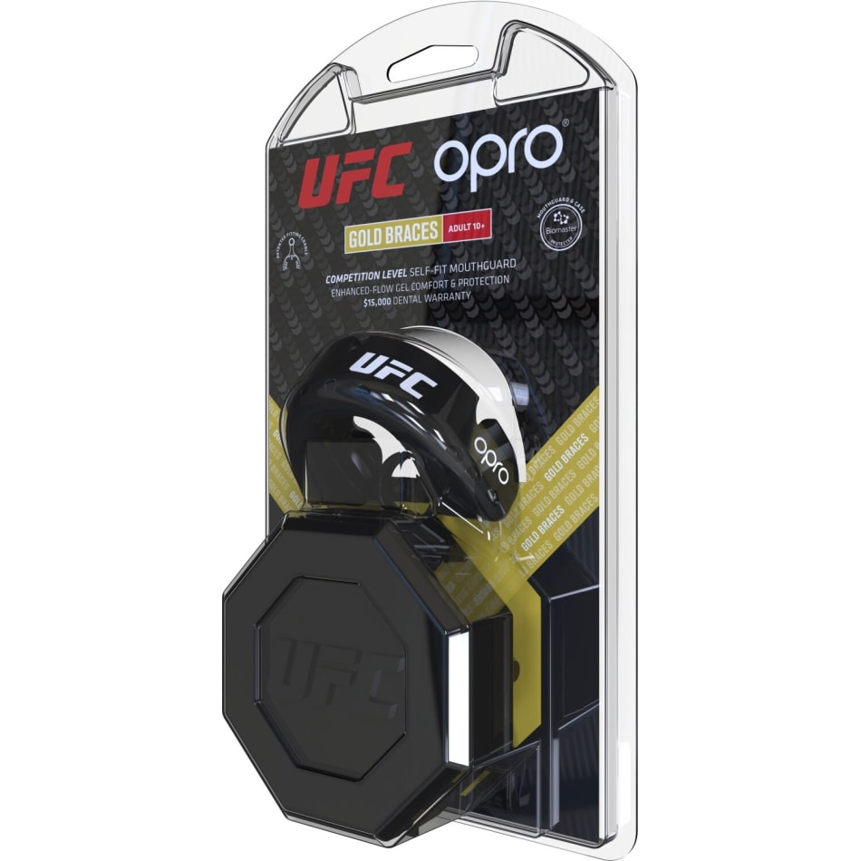 OPRO UFC Gold Braces Mouthguard, product, variation 2