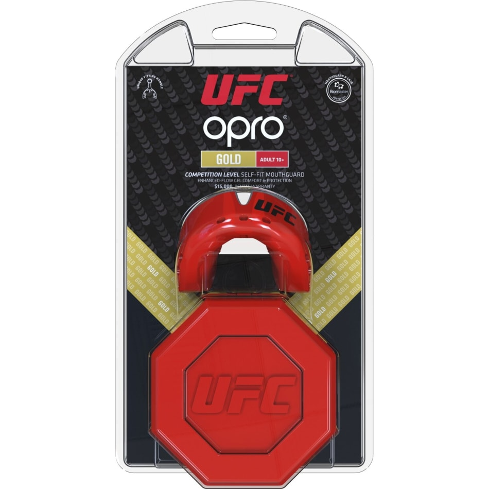 OPRO UFC Gold Senior Mouthguard, product, variation 4