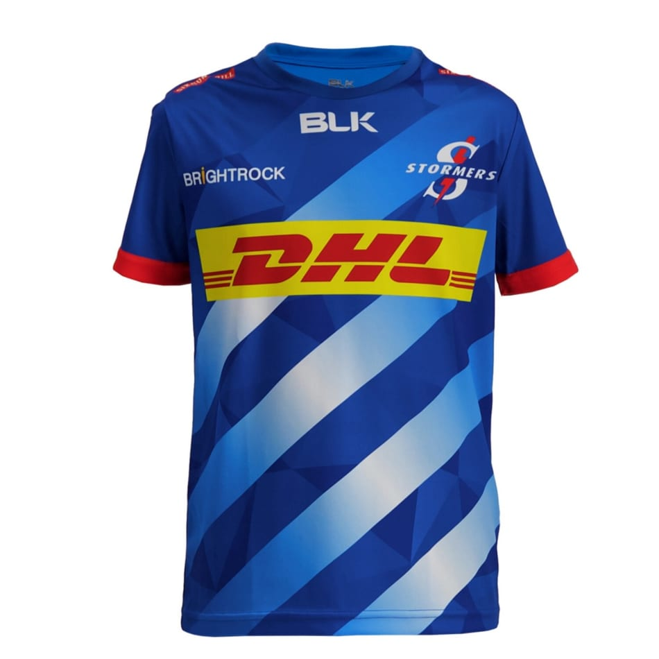 Stormers Junior Home 2020 S/Rugby Tee, product, variation 1