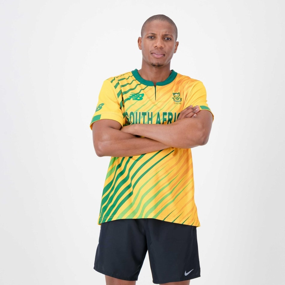 Proteas Men's 20/21 T20 Cricket Jersey, product, variation 1