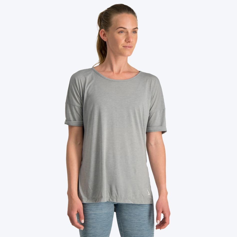 Nike Women's Yoga SS Top, product, variation 1