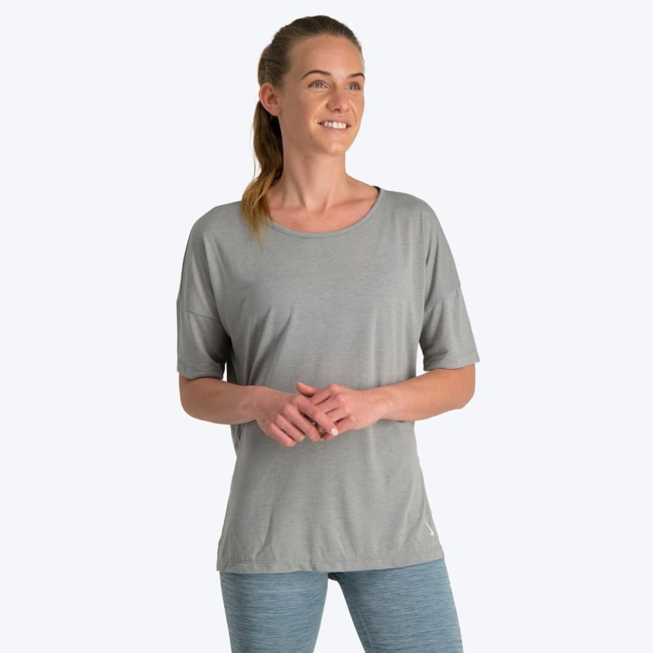 Nike Women's Yoga SS Top, product, variation 2