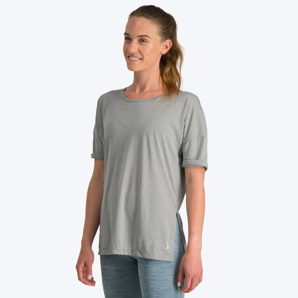 Nike Women's Yoga SS Top, product, variation 3