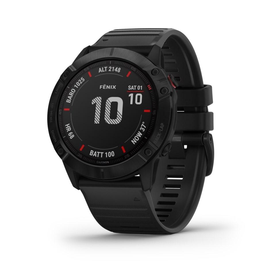 Garmin Fenix 6X Pro -Black Multisport GPS Watch, product, variation 1