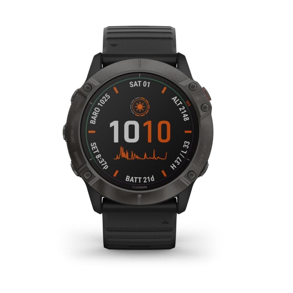 Garmin Fenix 6X Pro Solar Titanium Multisport GPS Watch, product, variation 2