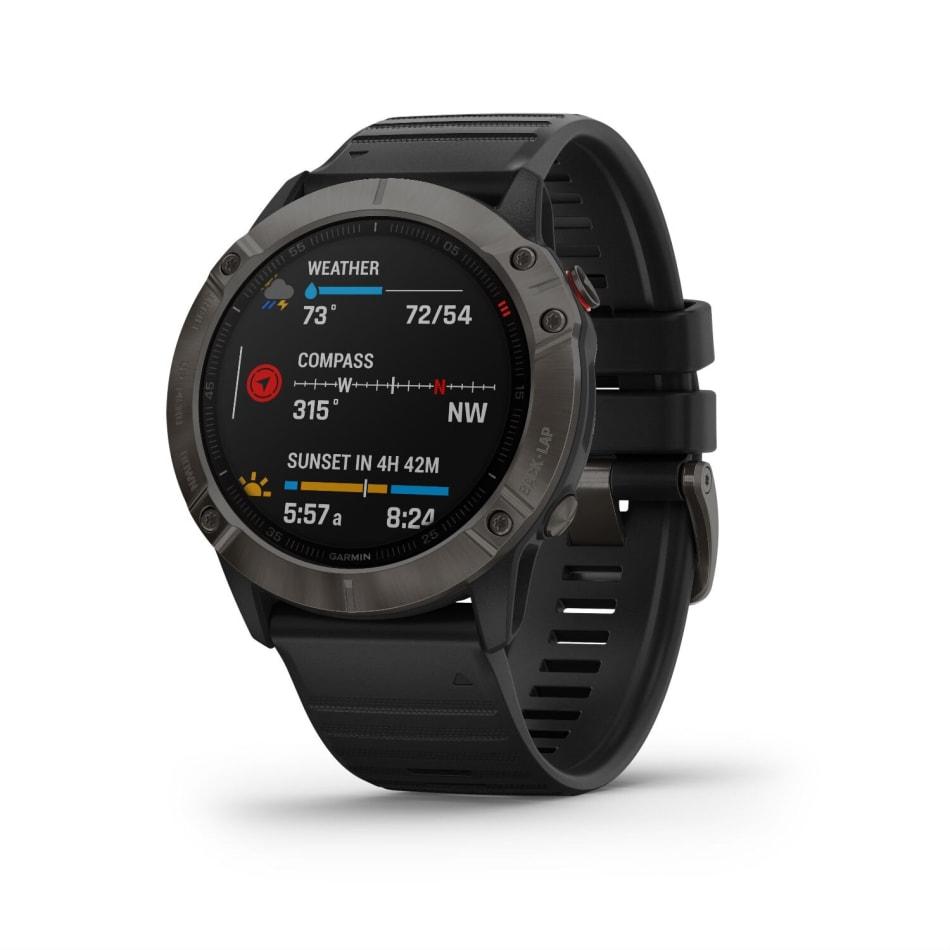 Garmin Fenix 6X Pro Solar Titanium Multisport GPS Watch, product, variation 4