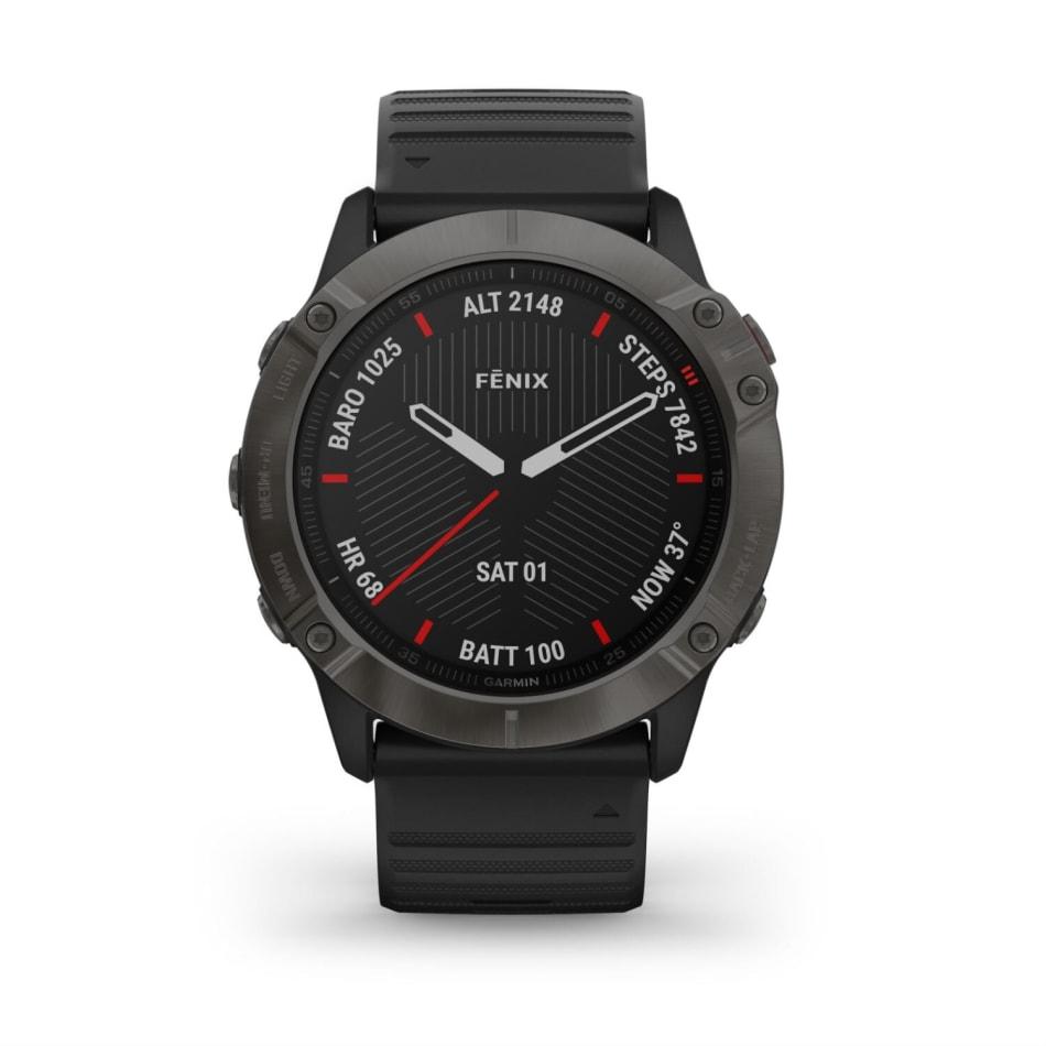 Garmin Fenix 6X Pro Solar Titanium Multisport GPS Watch, product, variation 5
